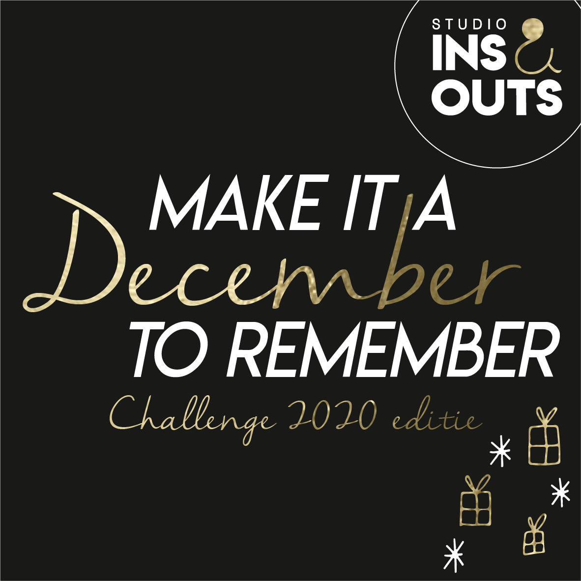 Make it a December to remember - Challenge 2020