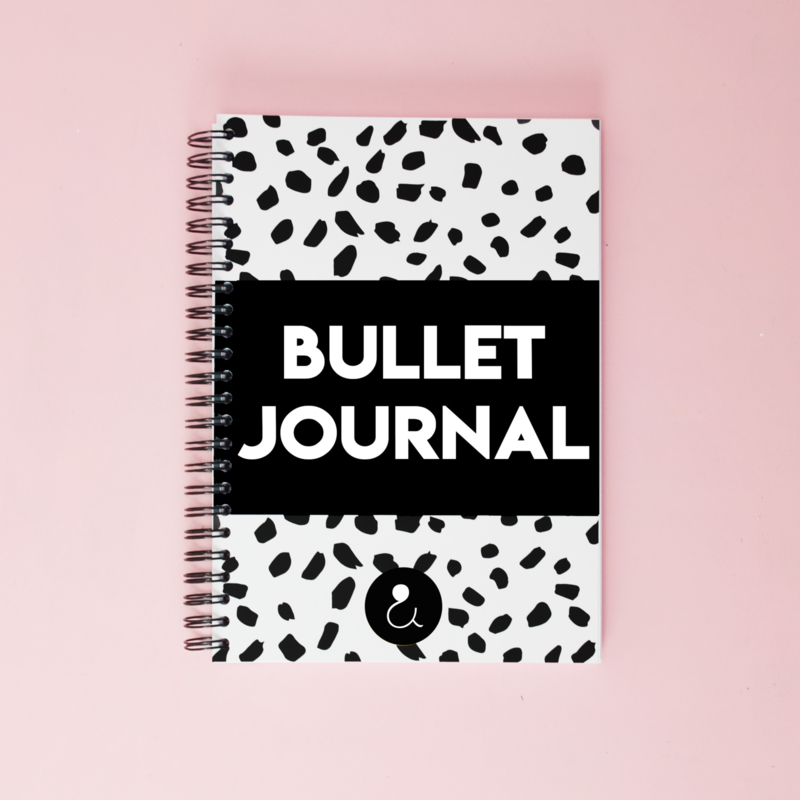 Bullet journal | monochrome