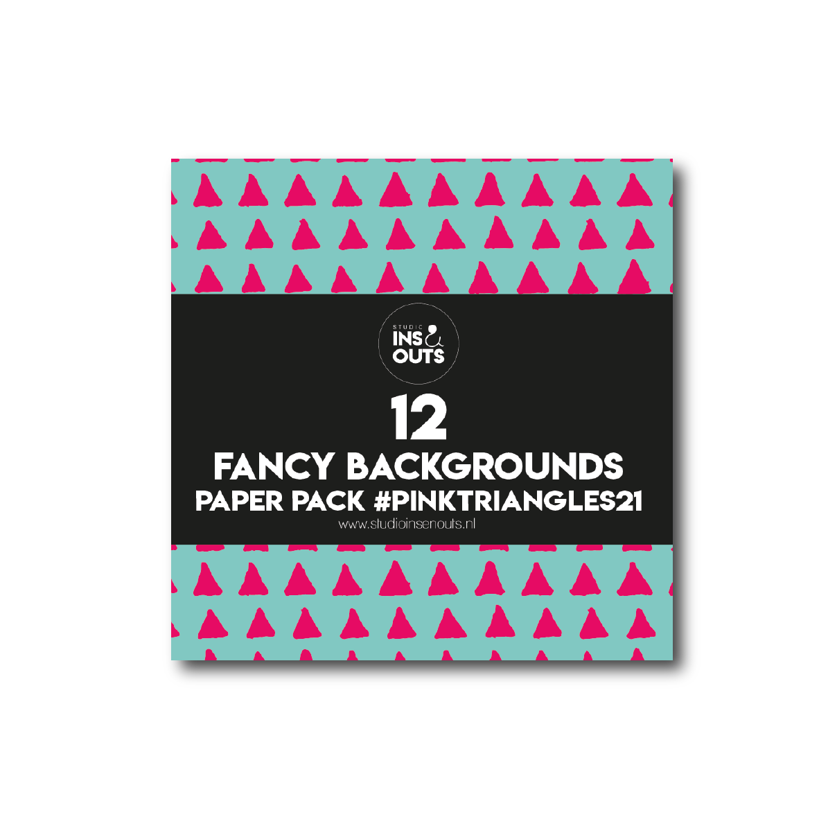 Paper Pack PINK TRIANGLES'21