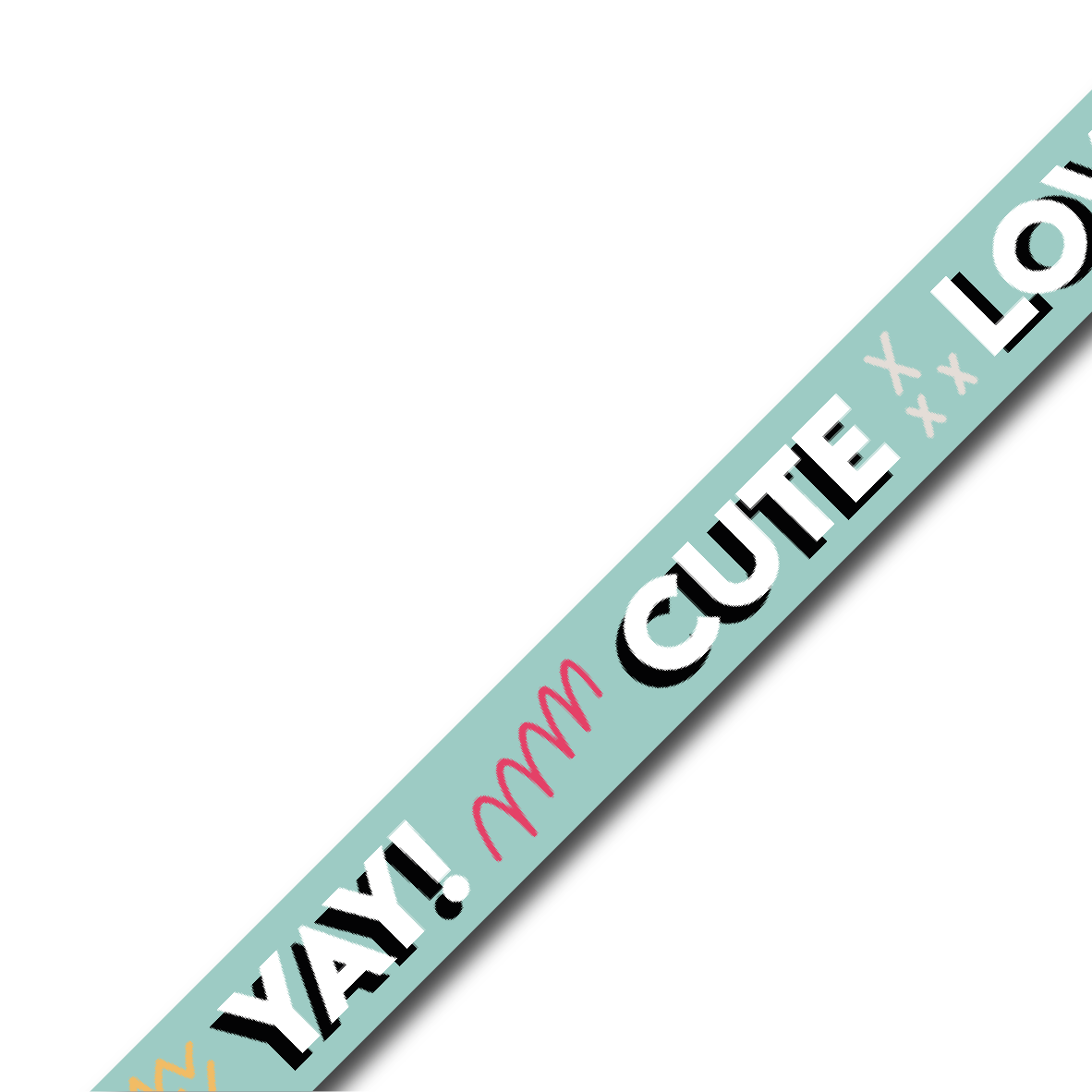 Washi tape | Quotes of summer