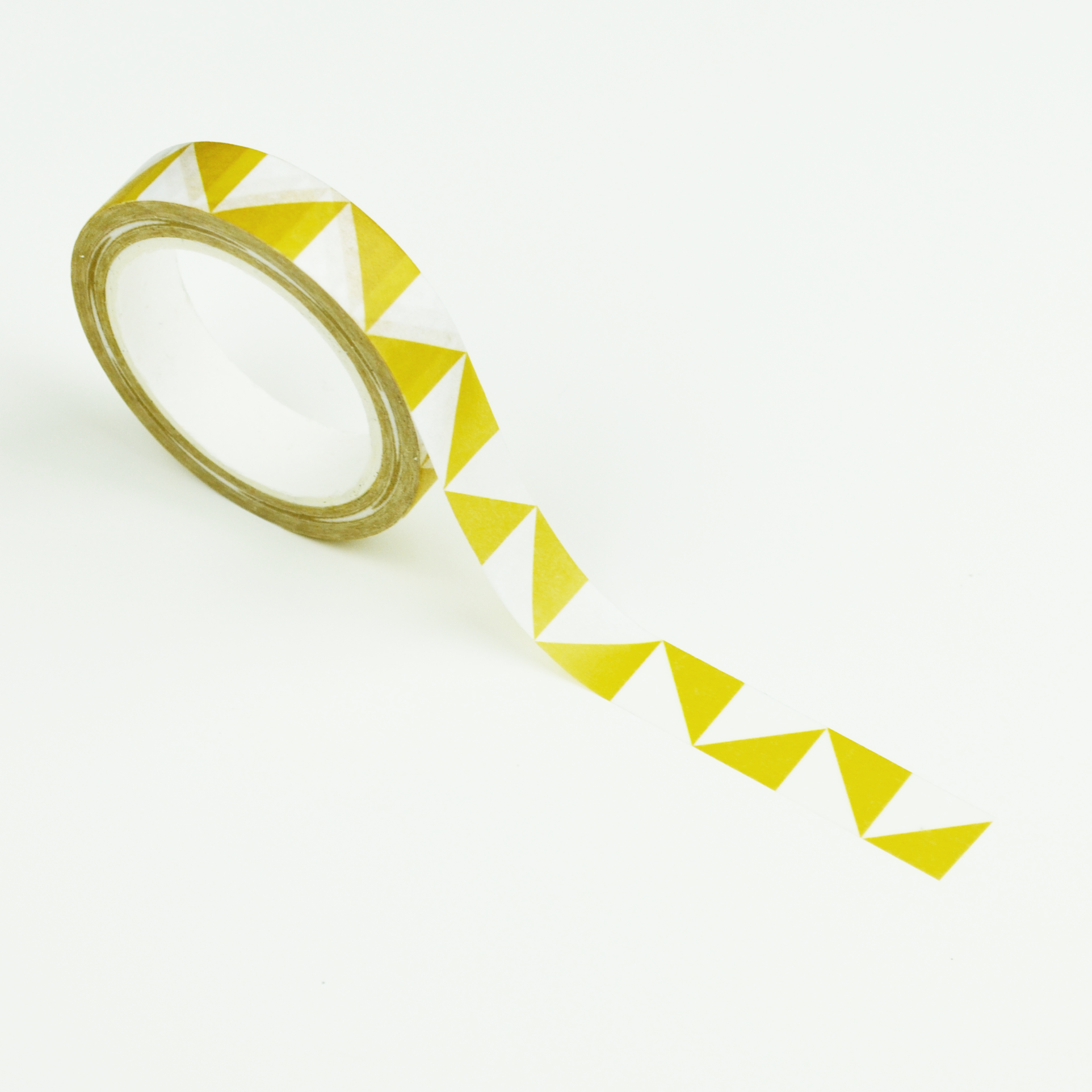 Washi tape: Yellow Triangles