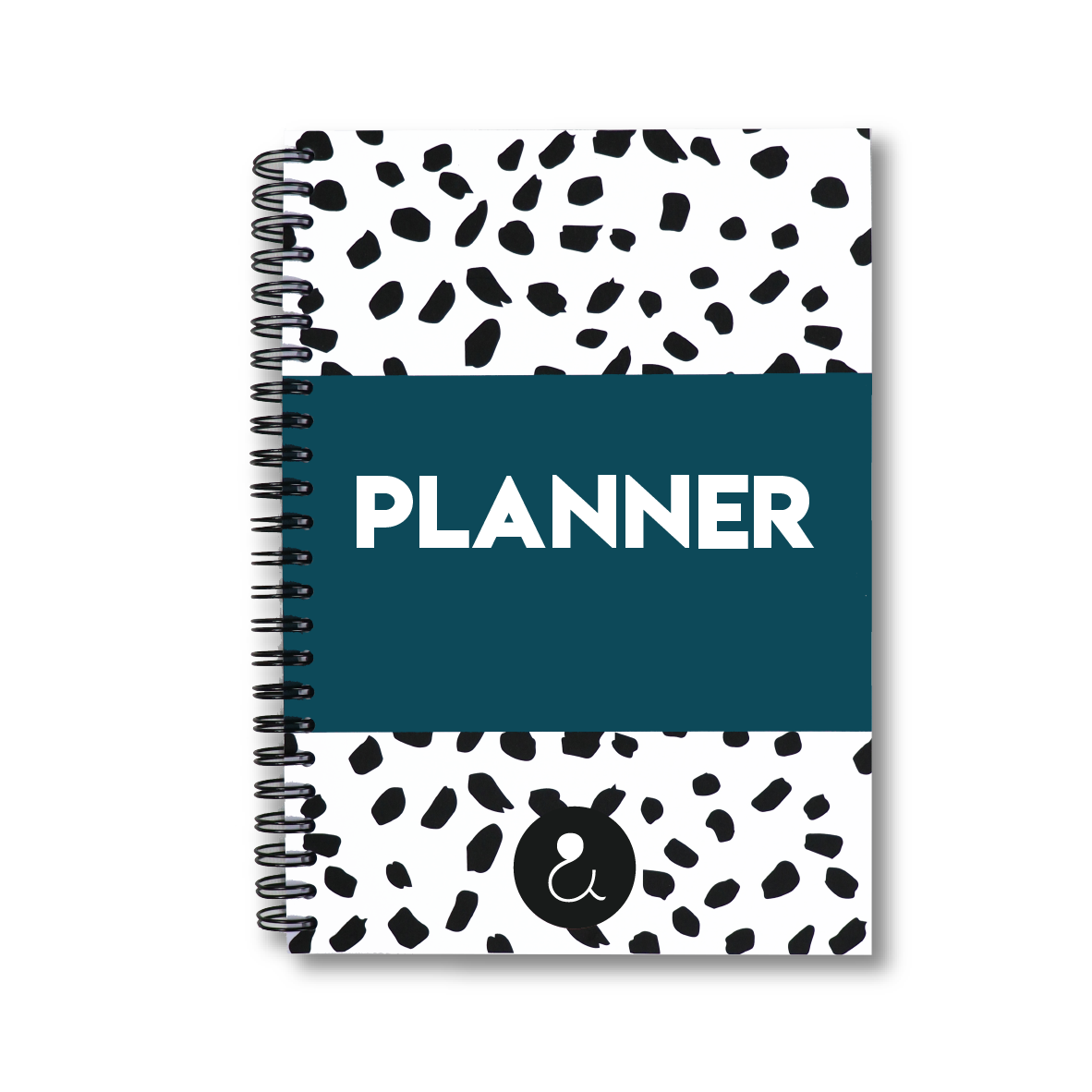 Planner a5 met stickers | donkerblauw