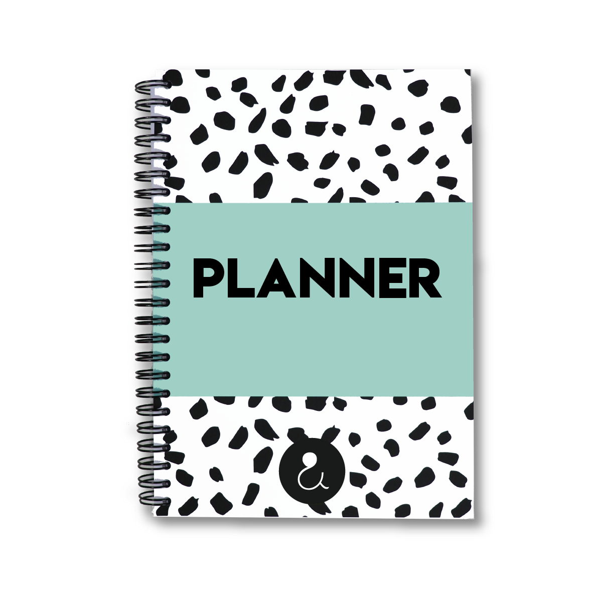 Planner a5 met stickers | mint