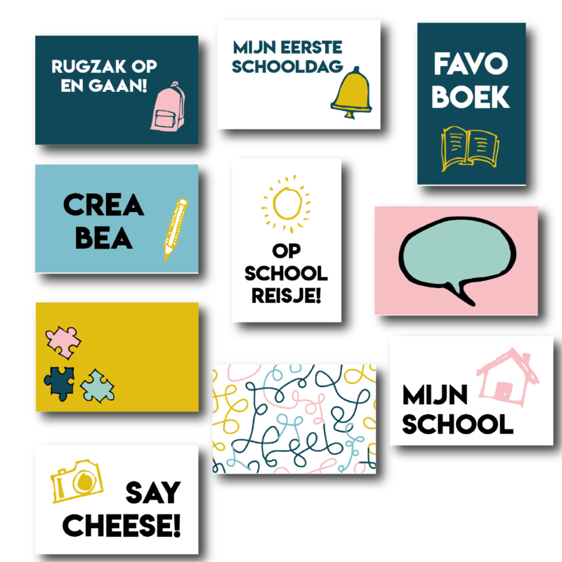 Quotekaartjes Back to School