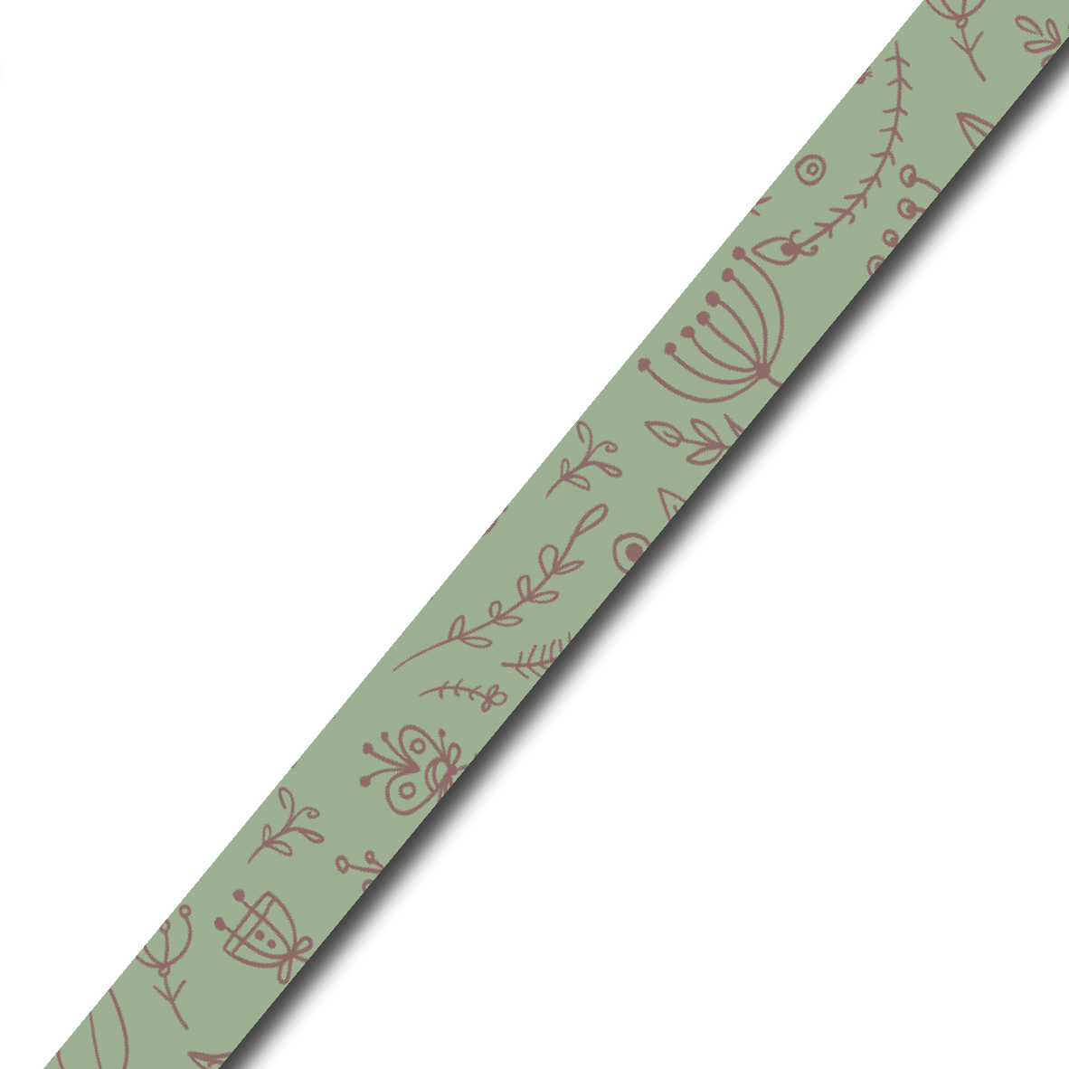 Brede washi tape: Flowers everywhere (f21)