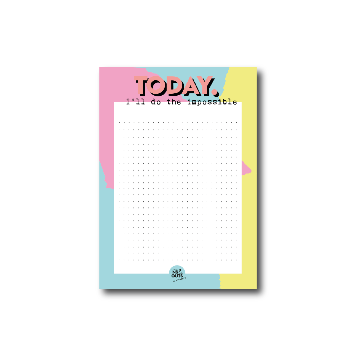 A6 notepad | Today