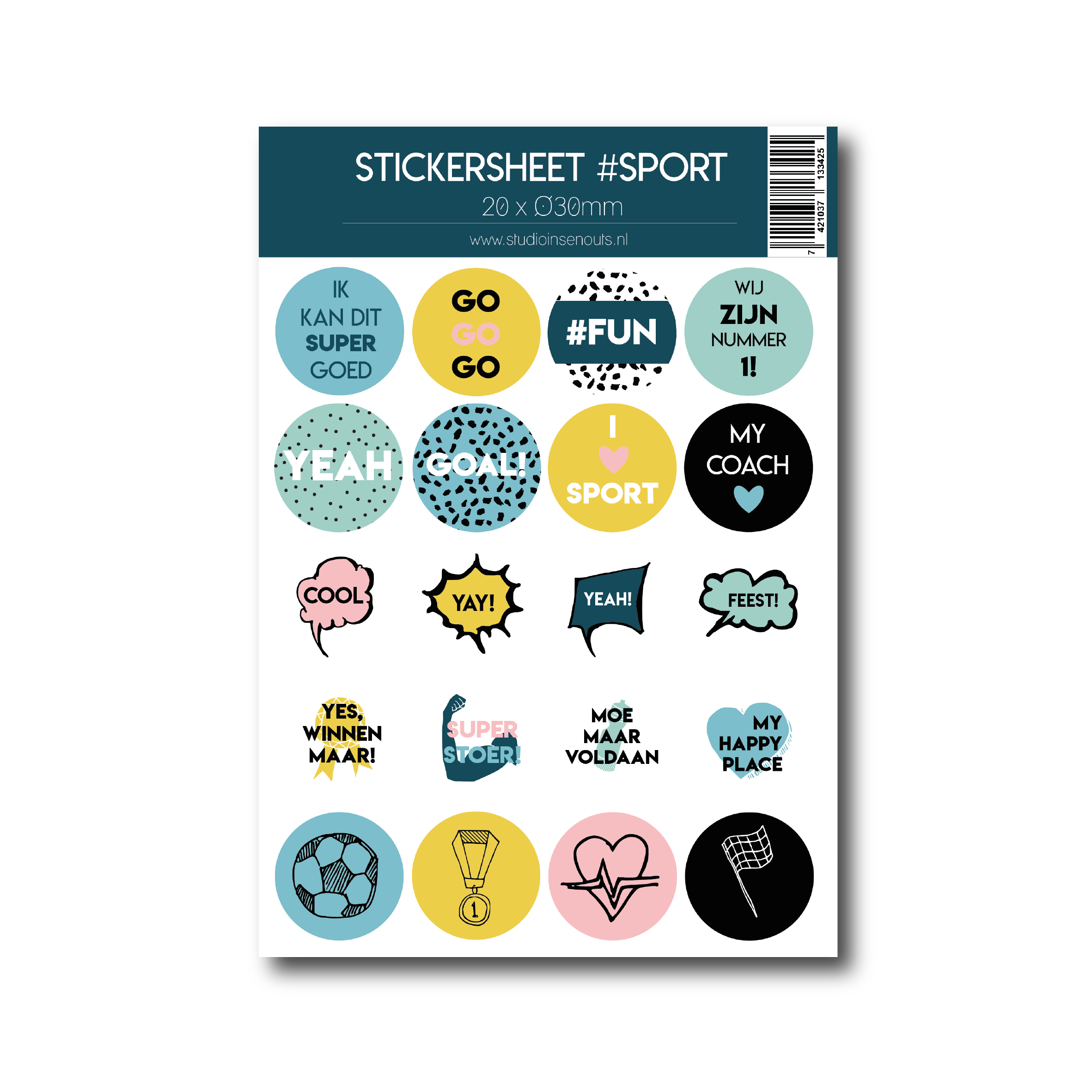 Stickervel | Sport