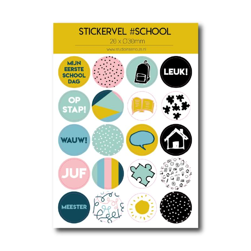 Stickervel | Back to School