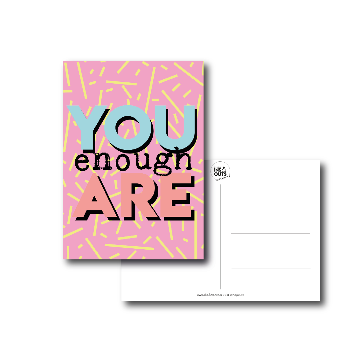 Greeting Card | You Are Enough