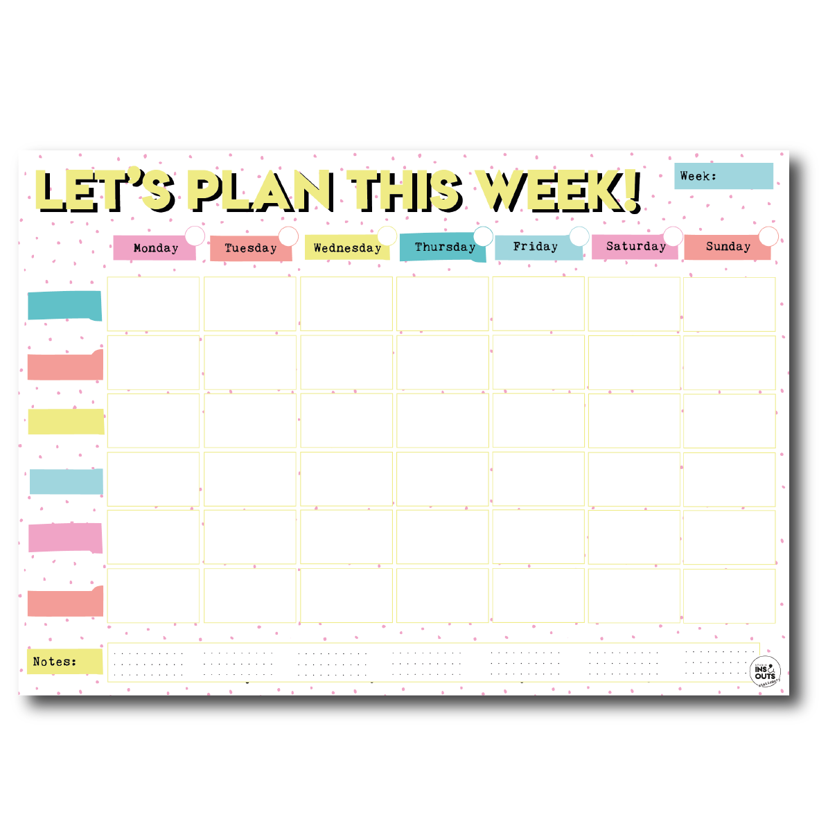 A3 Family Planner